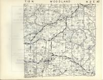 Woodland T13N-R2E, Sauk County 1953
